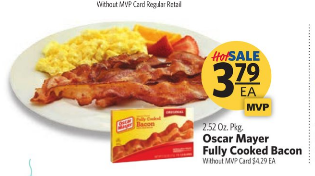 food lion bacon