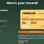 food lion card