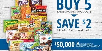 food lion general mills promotion