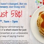 ihop short stack fifty eight cents