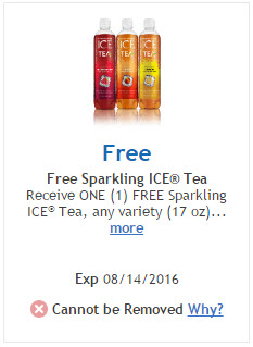 kroger free sparking ice tea