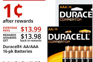 office depot duracell deal