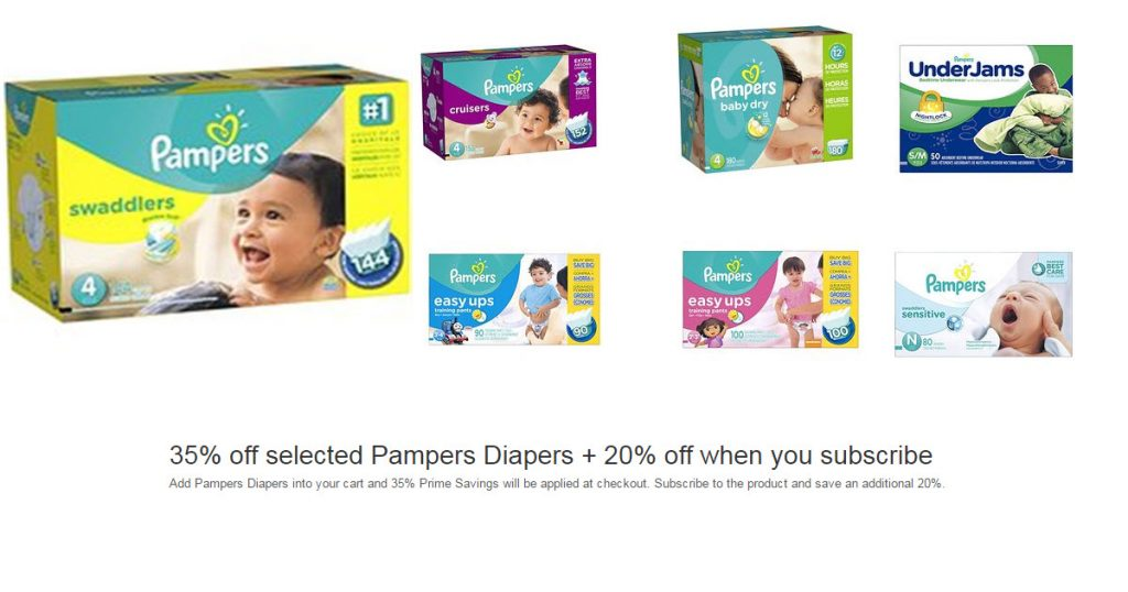 pampers prime day