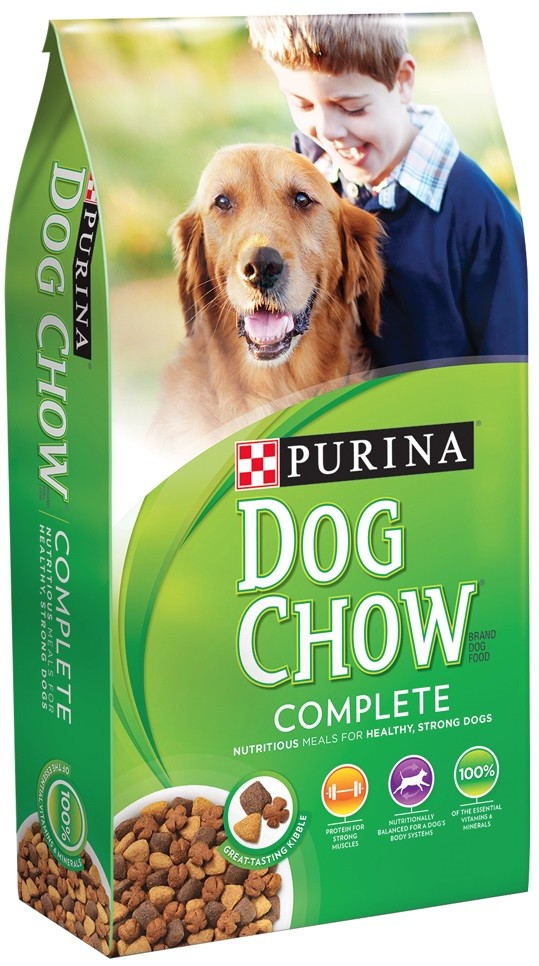 Dish up daily servings of Purina Dog Chow Complete Adult dry dog food to give your dog the essential nutrition he needs to keep up with you and your healthy life together.