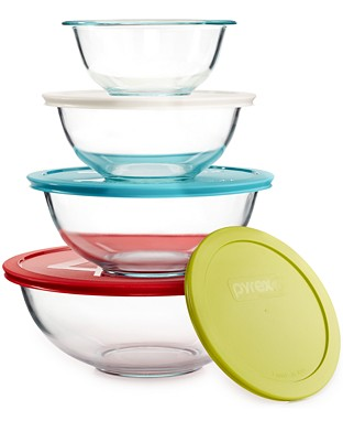 pyrex bowl set