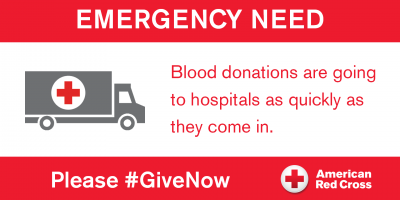red cross blood need