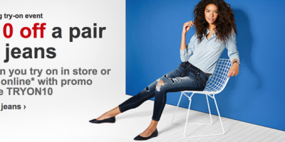 target jeans coupons