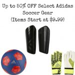 Up to 50% OFF Select Adidas Soccer Gear (Items Start at $9.99)