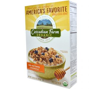 cascadian farms cereal