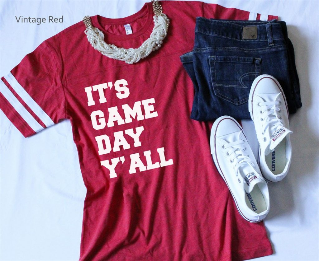 6d6f7994 Super Cute Football T-Shirts, And Earrings, And Onesies