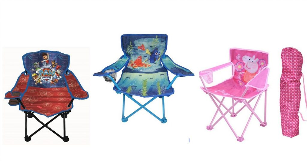 Kohl s Cardholder Kid's Character Folding Chairs ly $6 99 Shipped