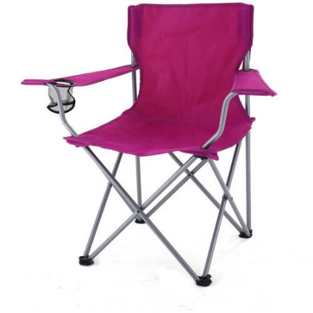 raspberry folding chair