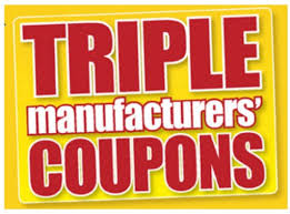 triple coupons