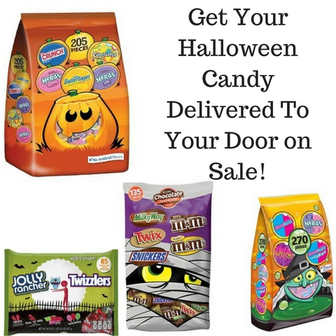 Get Your Halloween Candy Delivered To Your Door on Sale!