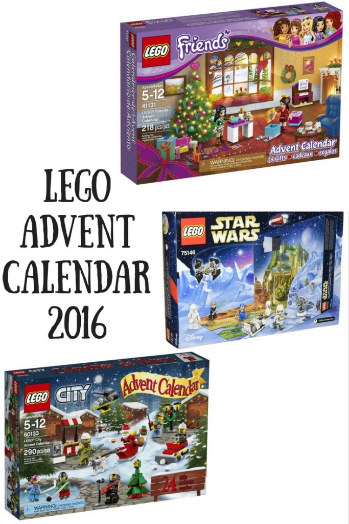 Lego Advent Calendar 2016