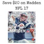 Save $20 on Madden NFL 17