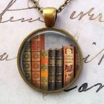 library necklace