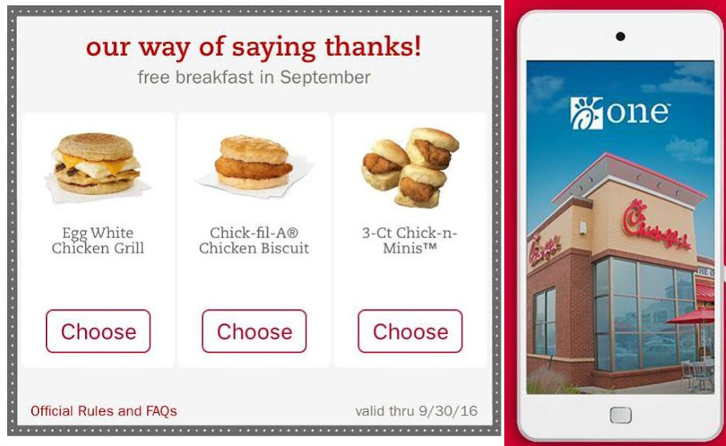 september thank you chick fil a