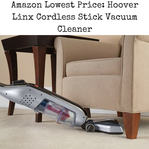 amazon-lowest-price-hoover-linx-cordless-stick-vacuum-cleaner