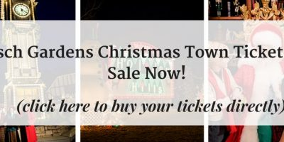 Buy Your Christmas Town Tickets Now!  Lowest Price...
