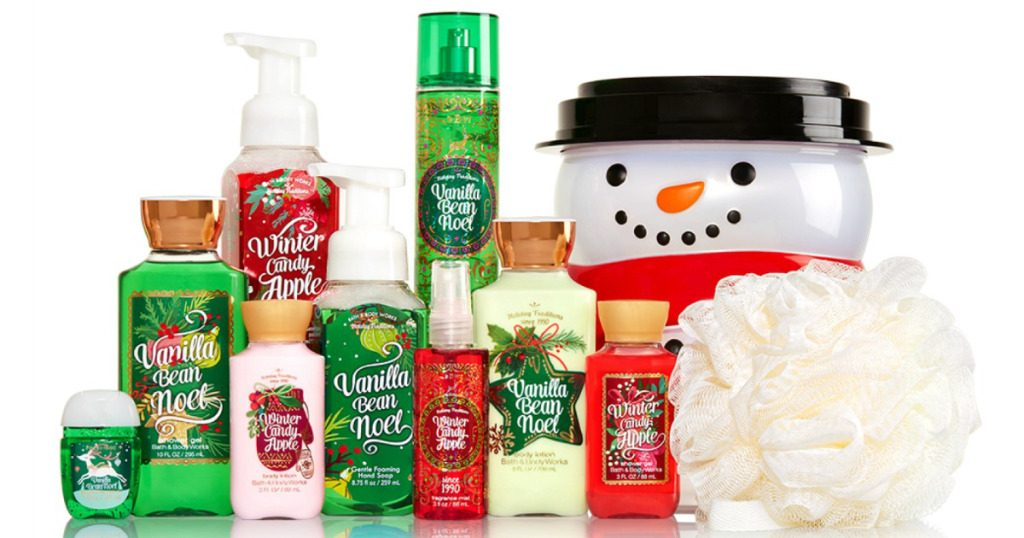Bath Body Works Holiday Traditions Bucket 85 Value