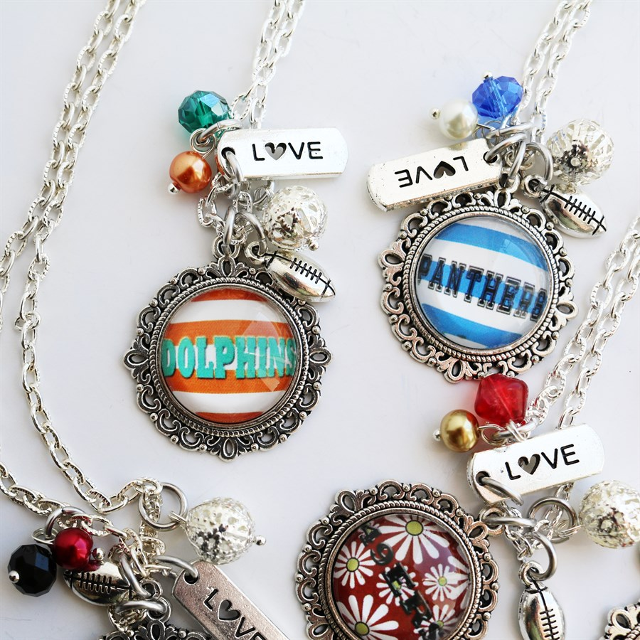 football-necklaces