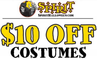 coupon 10 off 10 at spirit halloween