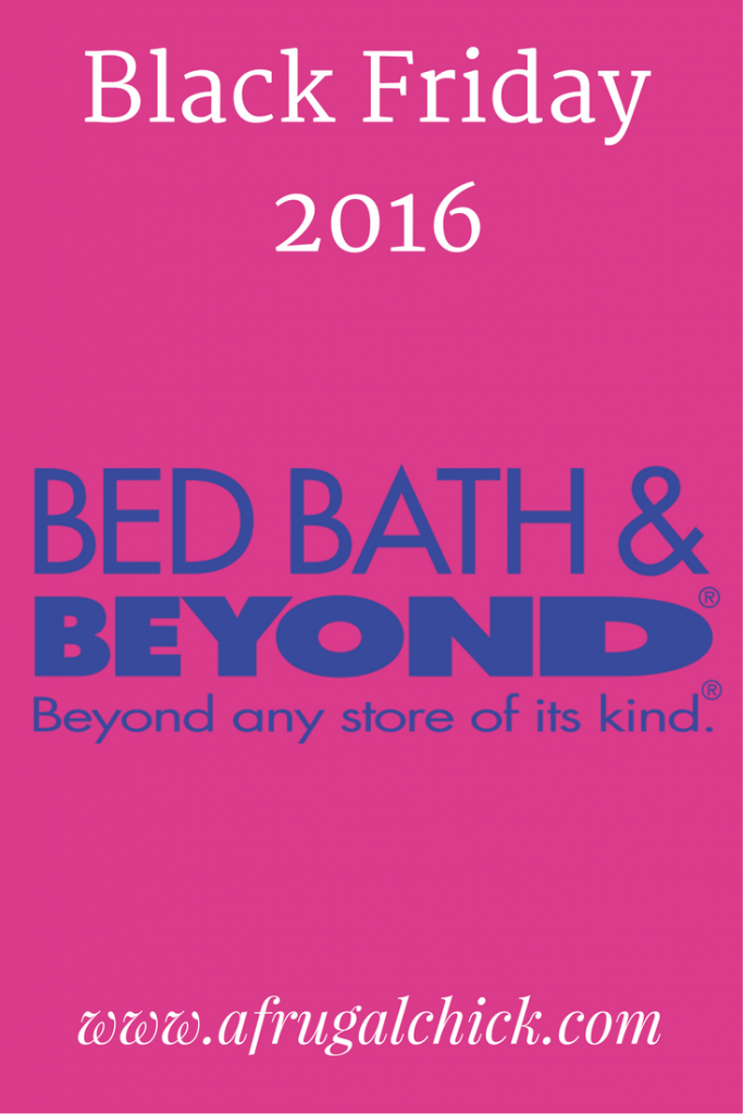 Bed Bath And Beyond Black Friday  Ads