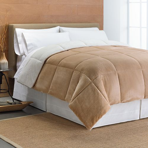 kohl's: cuddl duds cozy comforter set only $50.99 plus free