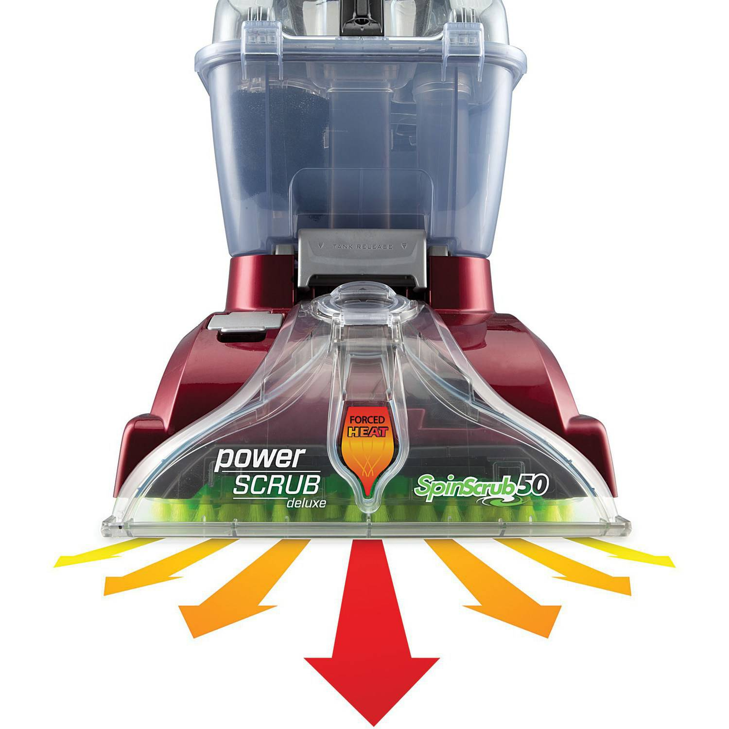 Kohl S Hoover Powerscrub Deluxe Carpet Cleaner With Tools