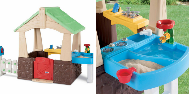 amazon lowest price little tikes deluxe home and garden playhouse - Little Tikes Home And Garden Playhouse