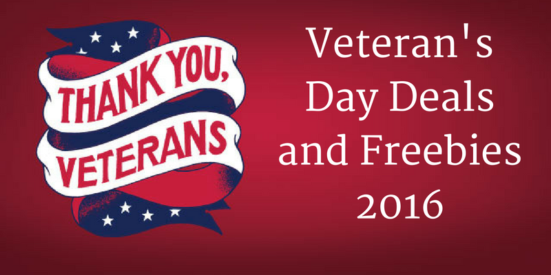 Free deals for veterans day 2018