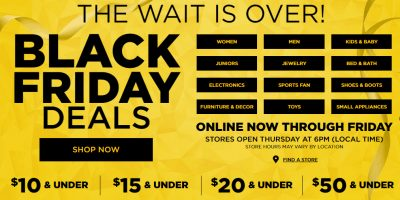 Kohl's Black Friday 2016 Is Now Live