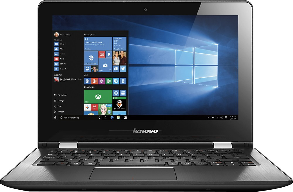 Best Buy Computer Deal: Lenovo Touch Screen Laptop Only