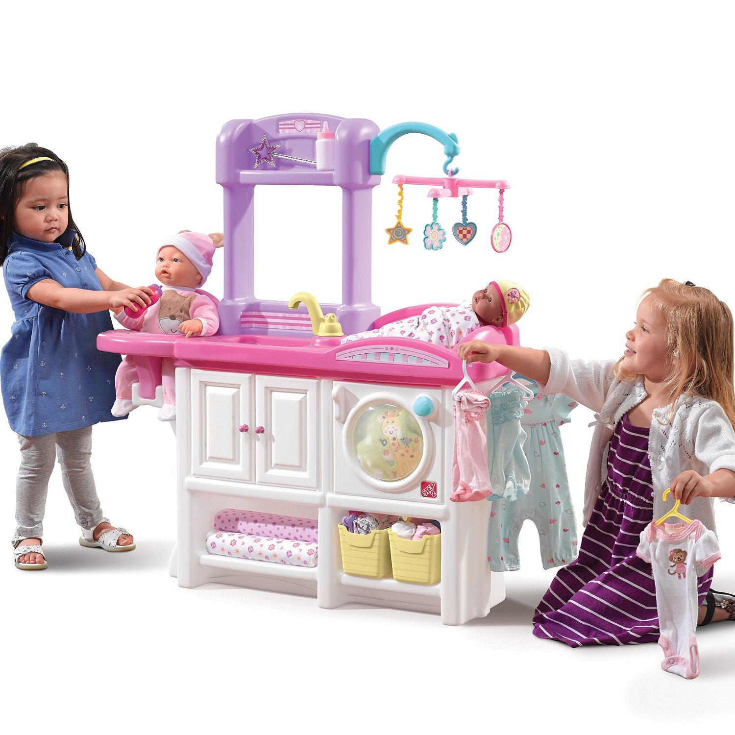Amazon Step2 Love And Care Deluxe Nursery Doll Furniture