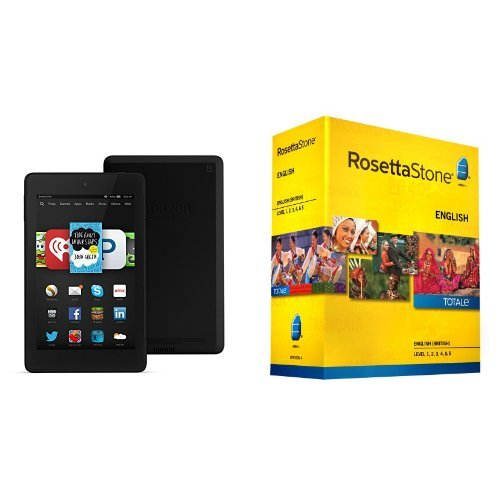 Amazon: Buy Rosetta Stone Level 1-5 Set & Get a FREE Kindle