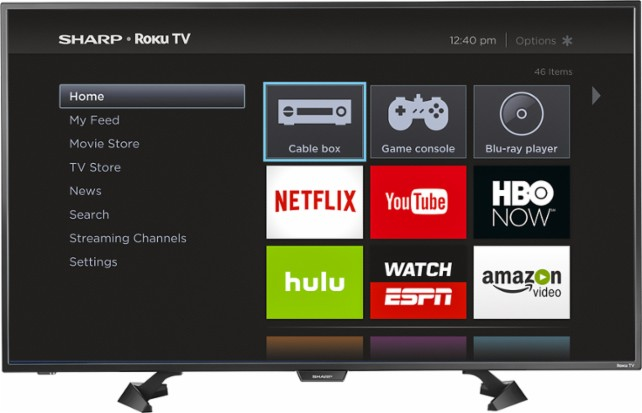 how to set up channels on a sharp tv