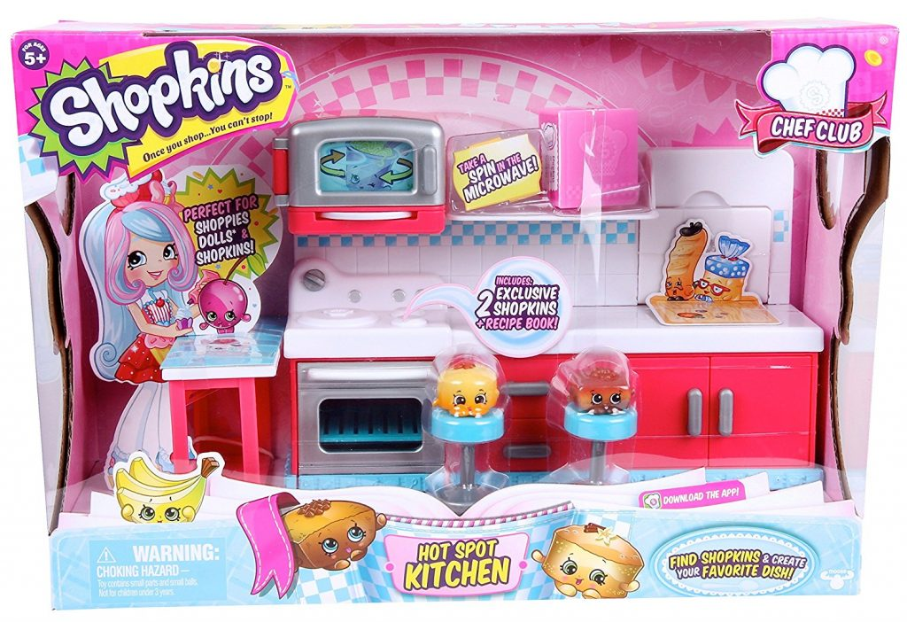 Amazon target and walmart drop price shopkins chef club for Kitchen set in amazon