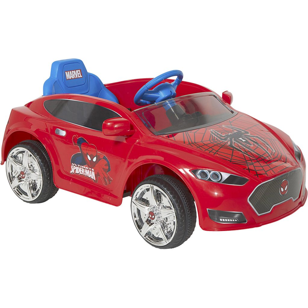 Spider-Man 6V Speed Electric Battery-Powered Coupe Ride-On $79 (Reg $149)