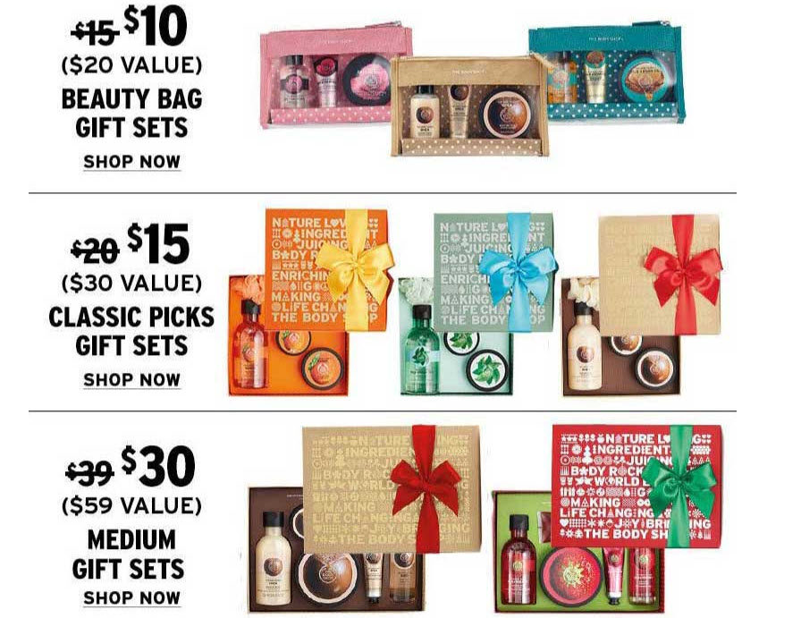 e5a2b16438 The Body Shop: Discounted Beauty Sets Plus A Black Friday Deal Tote ...