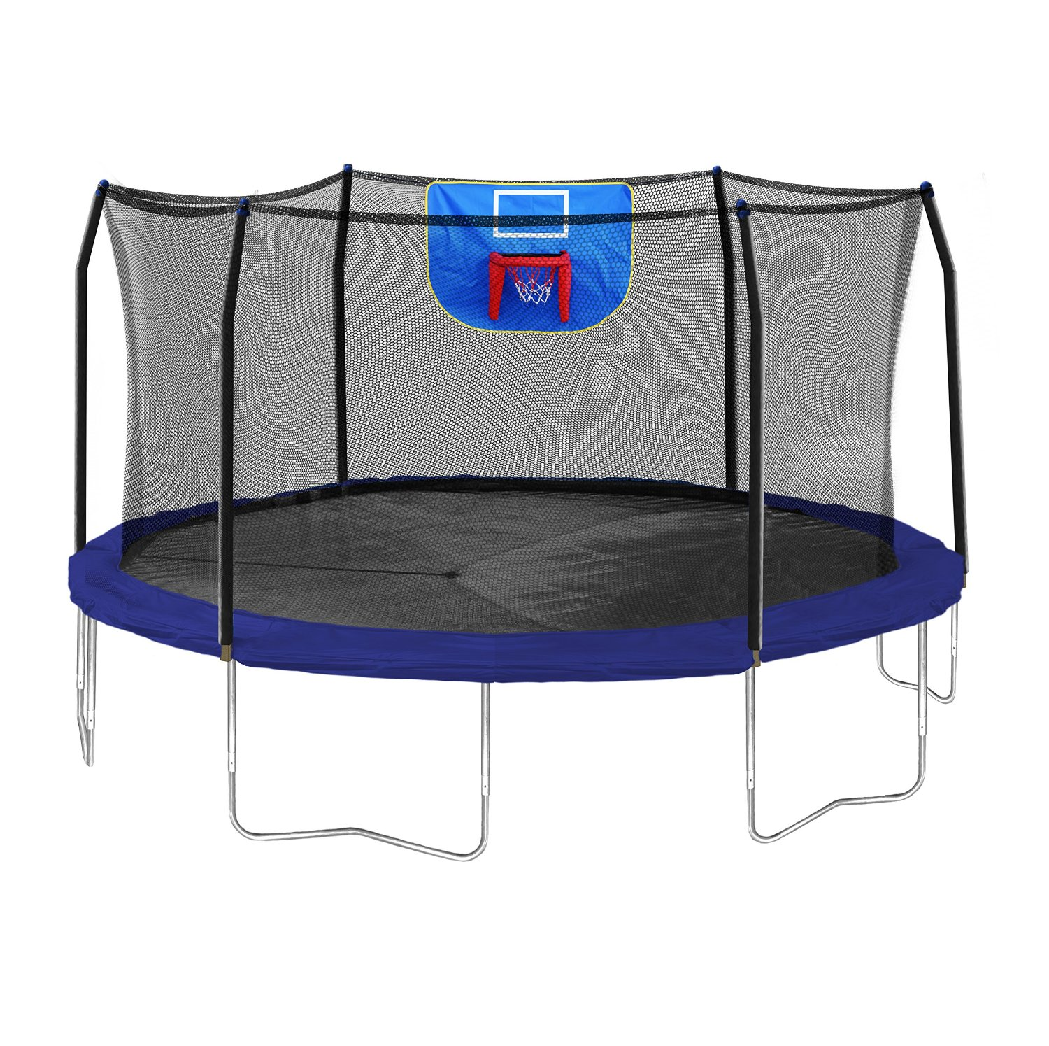 Kidwise Jumpfree 15 Ft Trampoline And Safety Enclosure: Amazon: Today Only-Skywalker Trampolines 15-Feet Jump N
