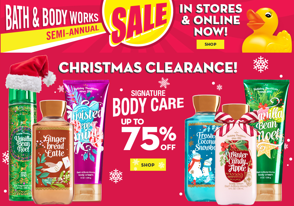 Top Bath & Body Works coupon: $10 Off $30 Or More. 25 Bath & Body Works promo codes and 14 printable coupons for December