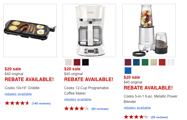 JCPenney Black Friday Now: $9 Small Appliances After Rebate (Reg. $40)
