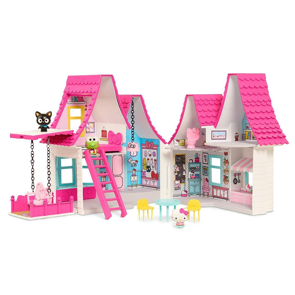 Amazon just play hello kitty doll house 4199 fandeluxe Gallery