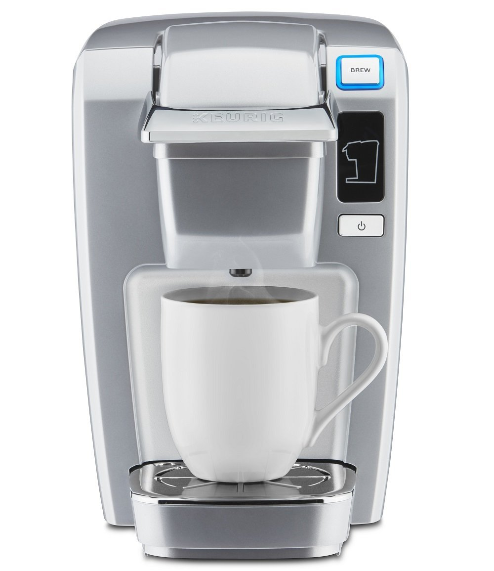 Coffee Maker That Uses Pods And K Cups : Amazon: Keurig K15 Single Serve Compact K-Cup Pod Coffee Maker, Platinum USD 49.99