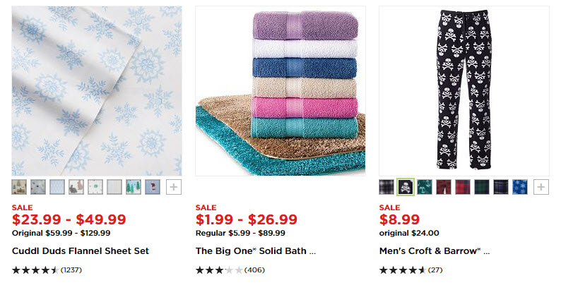 Kohl's: Up to 70% Off After Christmas Sale Plus Extra 25% off