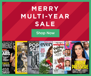 Magazine Gift Deal Multi Year Sale