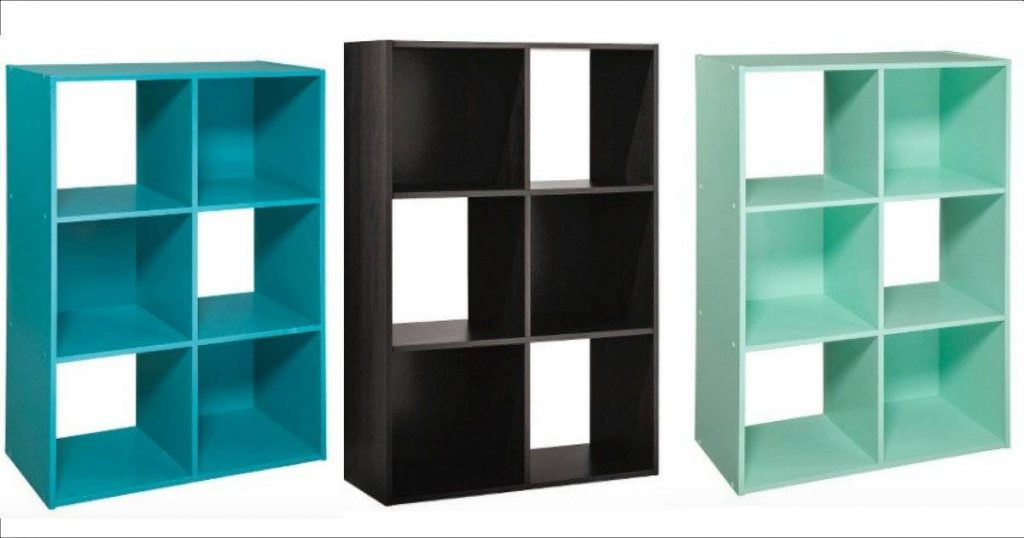 Target 6 Cube Organizer Shelf In 5 Colors Only 21 85 Free Shipping