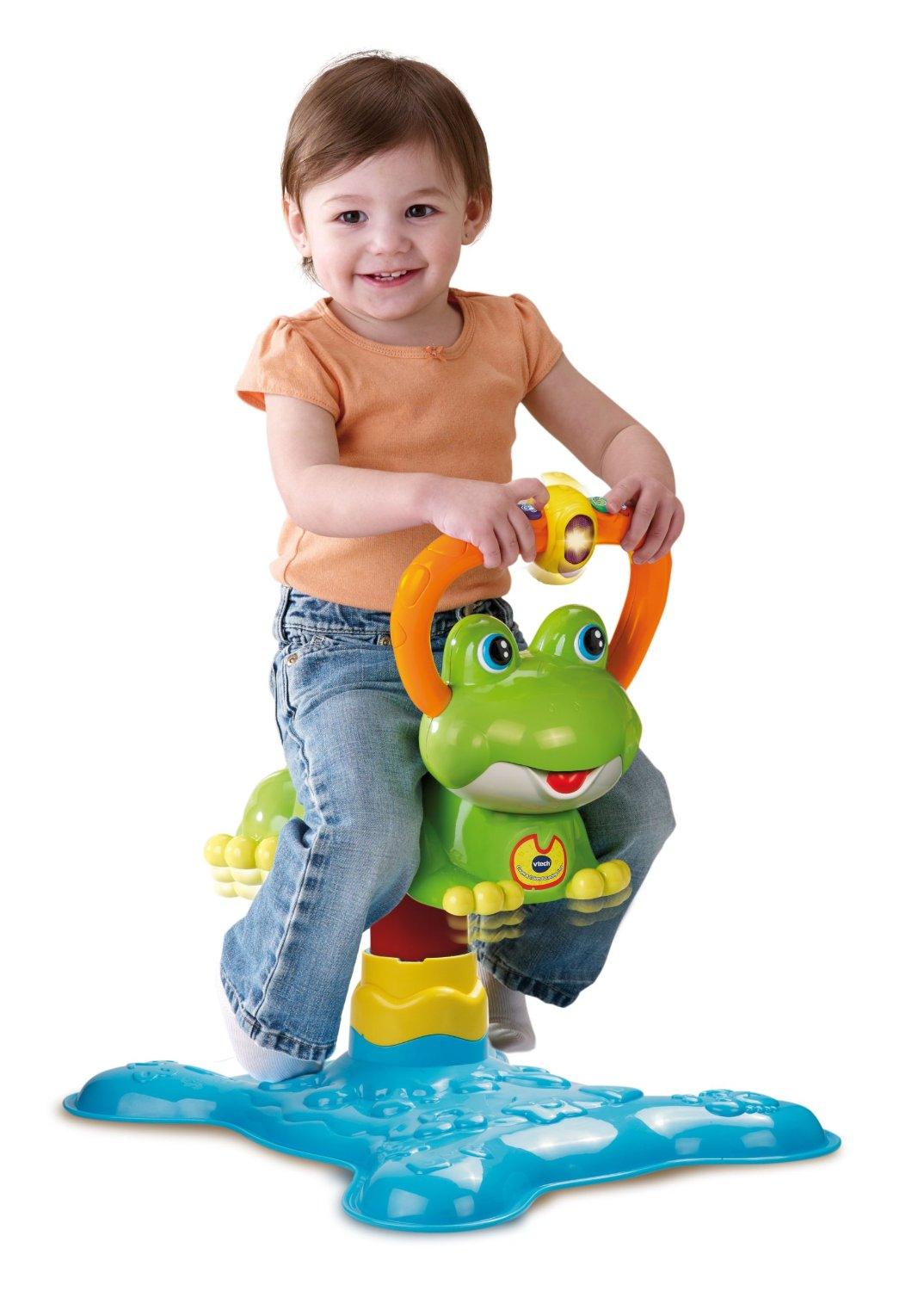 12 Month Olds Toys For Bouncing : Amazon vtech count and colors bouncing frog toy