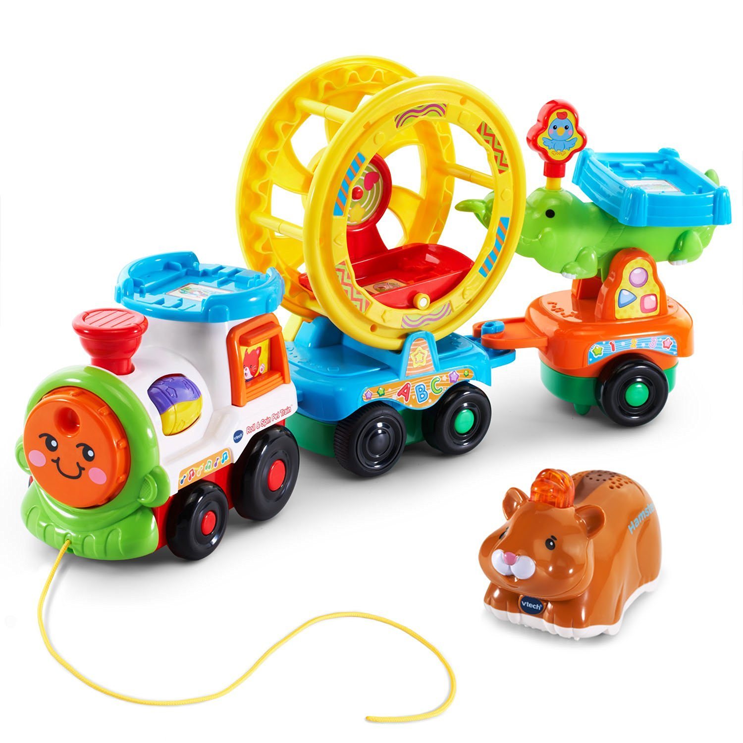 Walmart Learning Toys : Amazon vtech go smart animals roll spin pet train